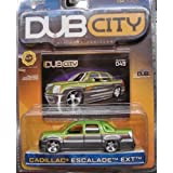 Jada Dub City Metallic Mean Green & Silver Cadillac Escalade EXT 1:64 Scale Die Cast Car