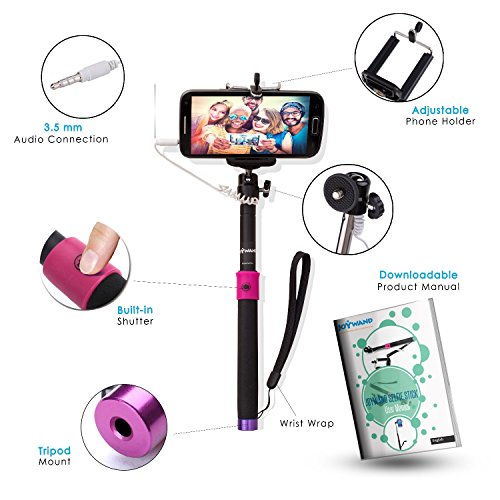 joywand selfie stick for smartphones free carry bag free special e book free unique game. Black Bedroom Furniture Sets. Home Design Ideas