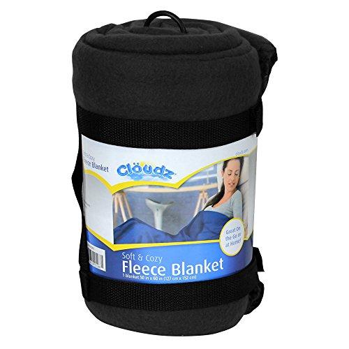 Clöudz Fleece Blanket - Black - 1
