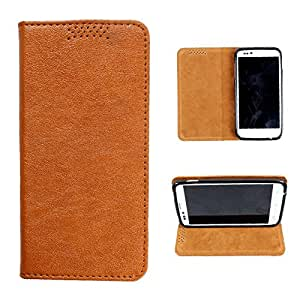 i-KitPit PU Leather Flip Case For Samsung Galaxy Note 1 (BROWN)