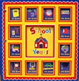 New Seasons, School Years Memories Keepsake Book Album, Red Scallop 24 Pockets Editors of Publications International Ltd.