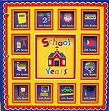 New Seasons, School Years Memories Keepsake Book Album, Red Scallop 24 Pockets Editors of Publications International Ltd.