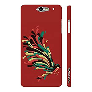 Infocos M812 Colourful Koyal designer mobile hard shell case by Enthopia