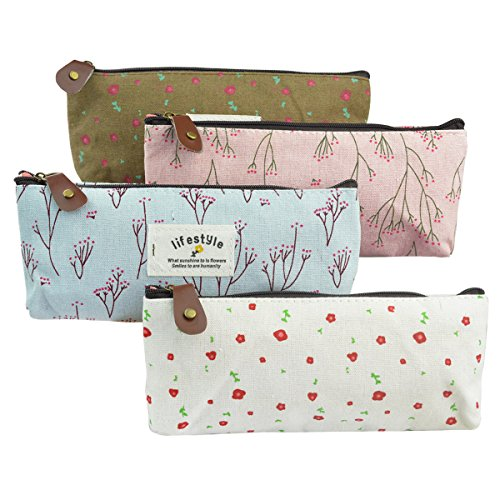 4pc-canvas-student-pencil-case-sumersha-pen-case-stationery-pouch-bag-case-cosmetic-bags-flower-patt