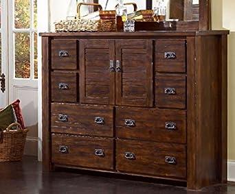Progressive Furniture P611-24 Dresser TrestlewoodCollection
