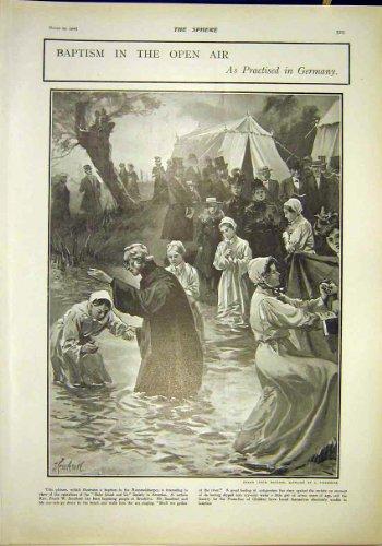 洗礼の外気ドイツ Rummelsburger 宗教 1902 年