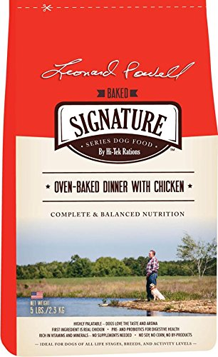 hi-tek-rations-lpssobc5-leonard-powell-signature-series-oven-baked-with-chicken-dry-dog-food-14-x-8-