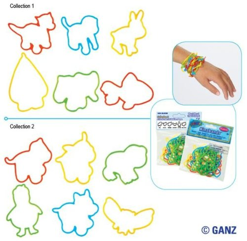 Webkinz Kinzbands Wristbands 2-Pack Set...Series 1 & Series 2