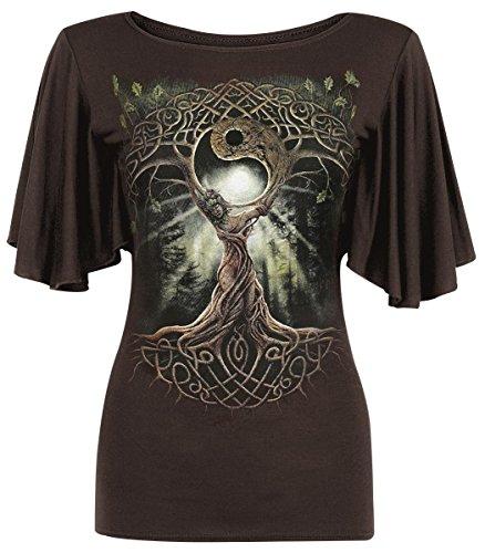 Spiral Oak Queen Maglia donna marrone L