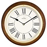 Acctim-24856-Arlington-Wall-Clock-Walnut