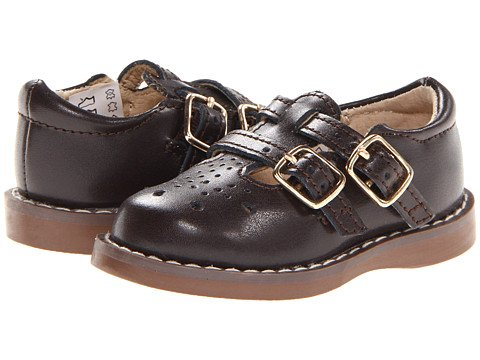 Footmates Danielle 2 Mary Jane (Toddler/Little Kid) Brown Size 7.5 M/W front-1000495