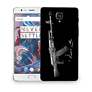 Snoogg Snipper Designer Protective Back Case Cover For ONEPLUS THREE