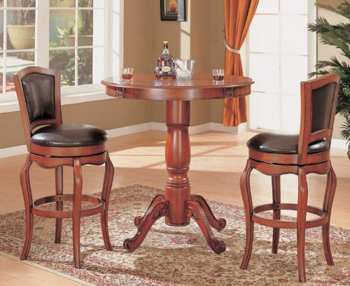 Black friday Cherry Finish Kitchen Bar Pub Table Set Wood  : 51Flx2BI3ZiL from sites.google.com size 500 x 409 jpeg 55kB