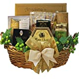 Art of Appreciation Gift Baskets Savory Sophisticated Gourmet Food Basket with Caviar, Medium