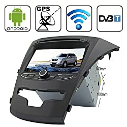 See Rungrace 7.0 Android 4.2 Multi-Touch Capacitive Screen In-Dash Car DVD Player for Ssangyong Korando with WiFi / GPS / RDS / IPOD / Bluetooth / DVB-T Details