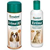 Himalaya Erina EP Coat Cleanser, 450 Ml With Erina EP Powder, 150 G