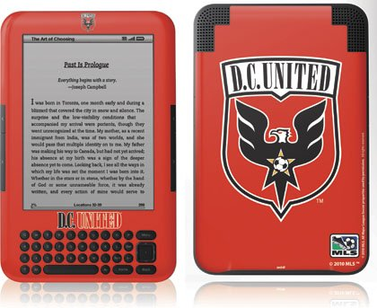 Skinit Kindle Skin (Fits Kindle Keyboard), D.C.