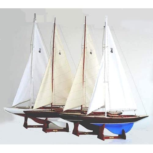 com - IOD One Design Class Racer Model Sailboat - Collectible Vehicles