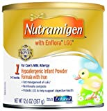 Nutramigen with Enflora LGG for Cow?s Milk Allergy Powder can, for Babies 0-12 Months, 12.6-Ounce Cans (Case of 6) [Hot Sale]