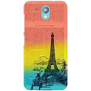 Design Worlds HTC Desire 526G Plus Back Cover - scenic Designer Case and Covers