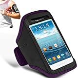 N+ INDIA SAMSUNG GALAXY S4 Adjustable Armband Gym Running Jogging Sports Case Cover Holder With Touch Stylus Pen...
