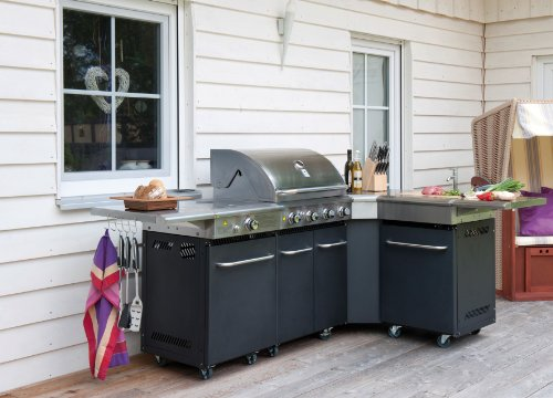 gasgrill gasgrillk che outdoor k che dallas fahrbar 64 x 46 cm preisvergleich g nstig. Black Bedroom Furniture Sets. Home Design Ideas