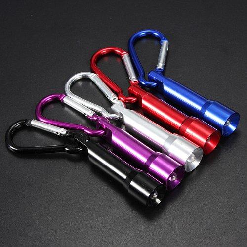 Bluelover B 10 LM Candela stile Mini portatile LED Keychain torcia nero