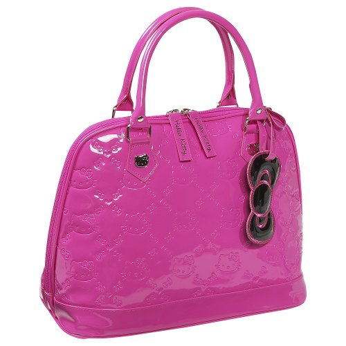 Loungefly Hello Kitty Small Pink Embossed Bag (Pink)