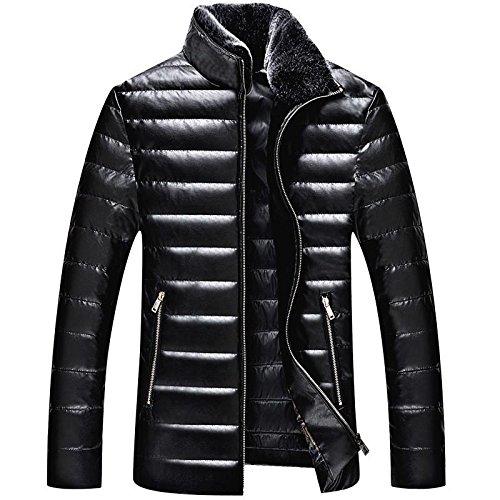 Giubbotto uomo Packable giù Puffer trapuntato leggero Puffer cappotto , 180/xl