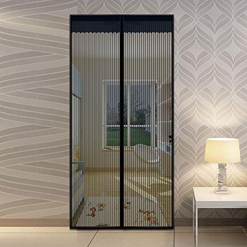 Fami tm magnetic screen door high quality hands free bug - Cortinas mosquiteras para puertas ...
