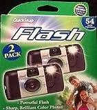 Fujifilm QuickSnap Flash 800 35mm Single Use Camera, 2pk (54 total exposures)