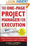 The One-Page Project Manager for Exec...