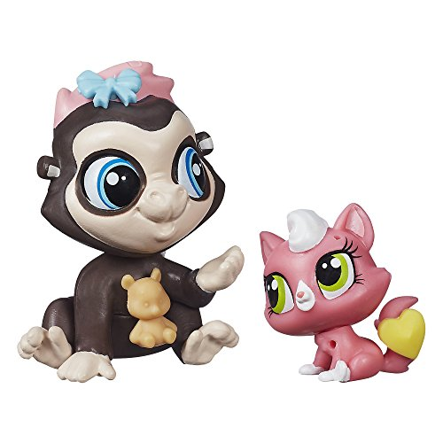 Littlest Pet Shop Pet Pawsabilities Terrence Konga & Purl McSweeney - 1