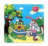 Ularma Lindo Juguetes de madera de los cabritos Jigsaw para la educaci�n de los ni�os y Puzzles juguetes de aprendizaje (multicolor3)
