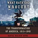 What Hath God Wrought: The Transformation of America, 1815 - 1848 (       UNABRIDGED) by Daniel Walker Howe Narrated by Patrick Cullen