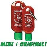 Sriracha2Go Combo Pack: 1oz Mini-S2G + 1.69oz Original Sriracha2Go (Empty)
