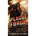 The Plague Forge: The Dire Earth Cycle: Three (       UNABRIDGED) by Jason M. Hough Narrated by Simon Vance