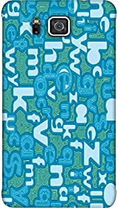 Timpax protective Armor Hard Bumper Back Case Cover. Multicolor printed on 3 Dimensional case with latest & finest graphic design art. Compatible with only Galaxy Alpha G850F Design No :TDZ-21535