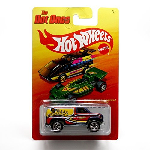 BAJA BREAKER (DARK BLUE) * The Hot Ones * 2011 Release of the 80's Classic Series - 1:64 Scale Throw Back HOT WHEELS Die-Cast Vehicle