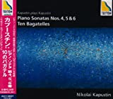 カプースチン:ピアノソナタ第4番&第5番&第6番