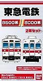 Bトレインショーティー 東急電鉄8500/8000系 (先頭+中間 2両入り)