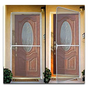 trademark poker instant screen door for home and office