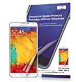 Green Onions Supply Crystal Oleophobic Screen Protector for Samsung Galaxy Note 3 (Pack of 2)