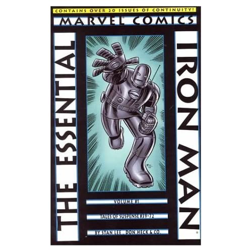Essential Iron Man [Paperback] Stan Lee Books