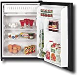 GE Spacemaker GMR06AAPBB 24in Compact Refrigerator 6.0 cu. ft. Capacty, Man ....