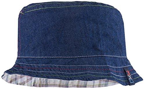 maximo-hut-reversible-jeans-karo-upf-50-cappello-per-bambini-e-ragazzi-blu-blau-navy-grau-4809-51