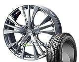[235/55R20]GOODYEAR / ICE NAVI SUV スタッドレス [2/-][Weds / LEONIS UC (HSBR) 20インチ] スタッドレス&ホイール4本セット ムラーノ(Z51系)