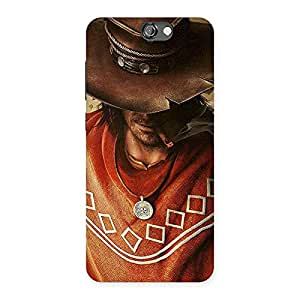 Cowboy Multicolor Back Case Cover for HTC One A9
