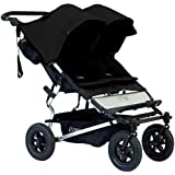 Mountain Buggy Duet 2015 Double Stroller, Black