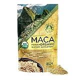 Maca Powder Organic Peruvian Premium Grade Superfood (Raw)- USDA & Vegan Certified - 226.7g (8oz) - Perfect for Breakfast, Smoothies, Baking & Ice Cream.